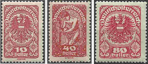 Inflation in Österreich - Belege - 1918 bis 1925 Porto_10