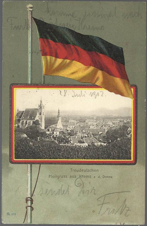 Alte Farbkarten deutscher Städte und Landschaften Treude10