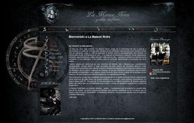 Presentación de la nueva web y portal gótico canario: La Maison Noire Lmnweb10