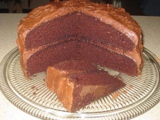 Gâteau au chocolat avec glaçage au beurre  Gateau11