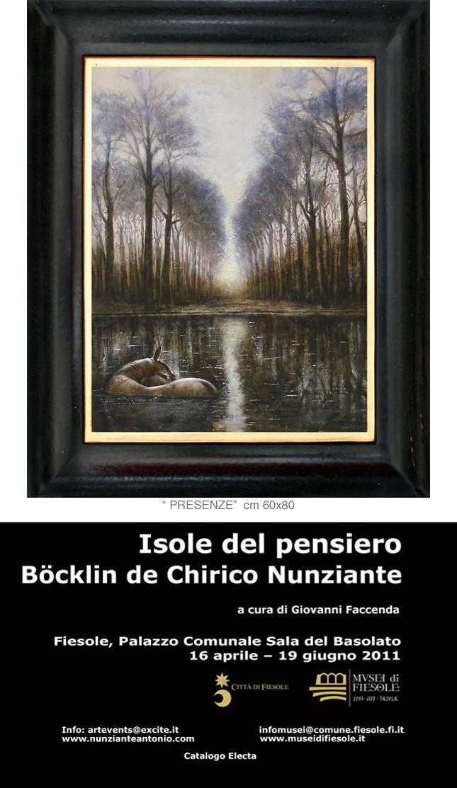"""FIESOLE """"Isole del pensiero"""" Böcklin-de Chirico-Nunziante - Pagina 2 25011110"""