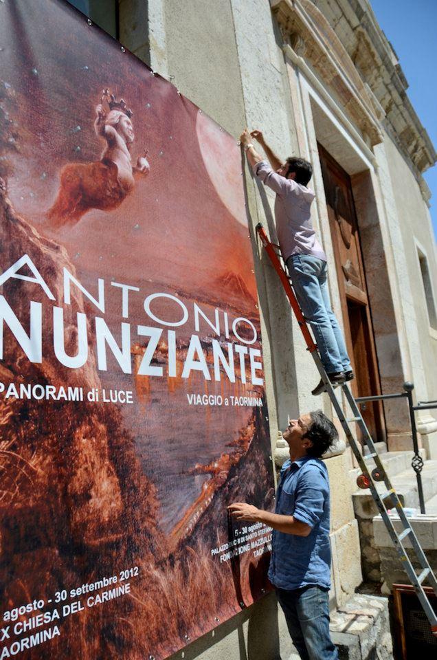 """MOSTRA A TAORMINA; """"Viaggio a Taormina"""" 4-30 Agosto 2012 Fondazione Mazzullo. Anteprima di alcune opere del maestro.. 57876710"""