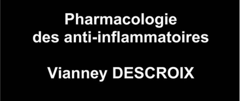 Pharmacologie des anti-inflammatoires Pharma10