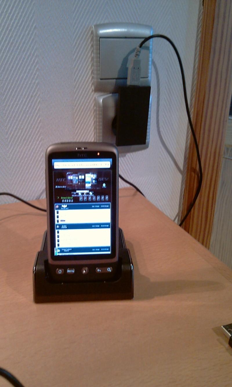[MOBILEFUN.FR] Test du dock pour le HTC Desire avec emplacement pour seconde batterie sur Génération mobiles Imag0013