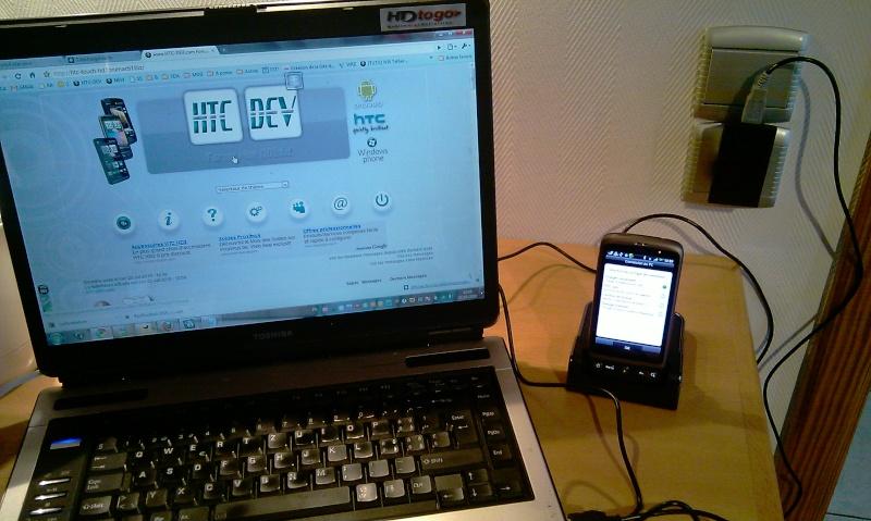 [MOBILEFUN.FR] Test du dock pour le HTC Desire avec emplacement pour seconde batterie sur Génération mobiles Imag0015