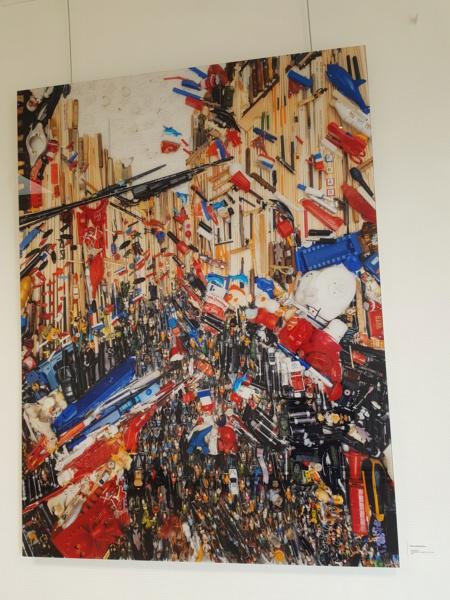 Exposition de Bernard Pras à Laval (août 2018) 20180817