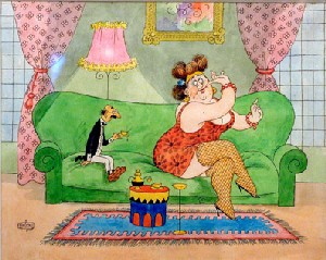 Dubout illustrateur (1905-1976) Albert11