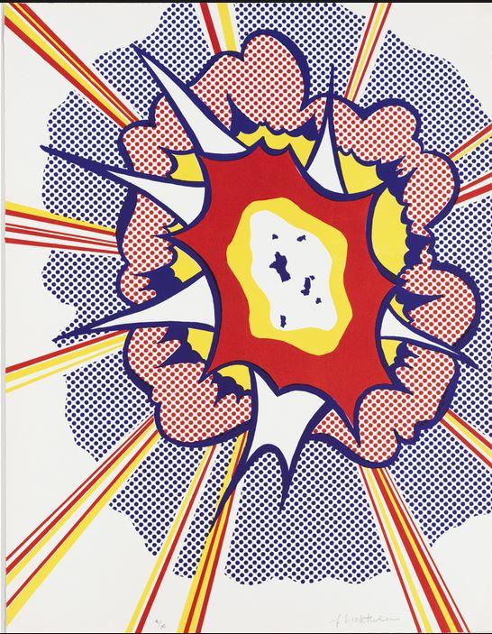 Roy Lichtenstein Boum10