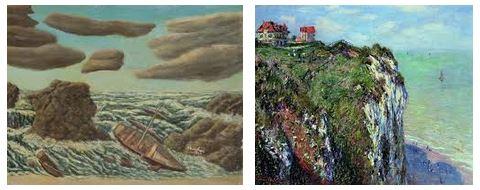 Juxtapositions oulipiennes d'images - Poésie des contrastes Chute10