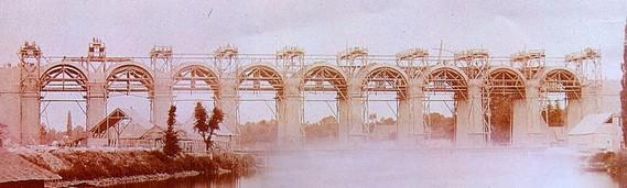 Viaduc de Laval Constr11