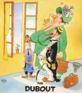 Dubout illustrateur (1905-1976) Couple10