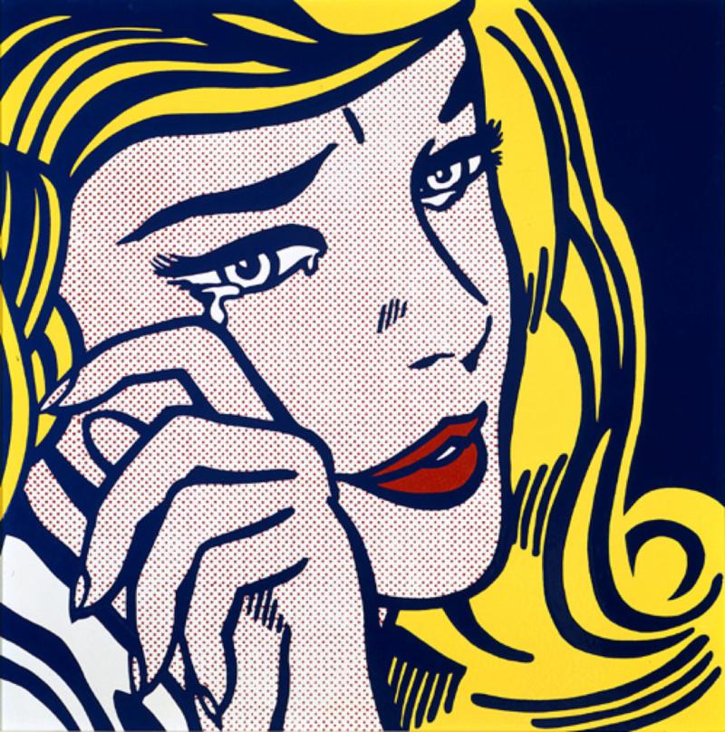 Roy Lichtenstein Crying10