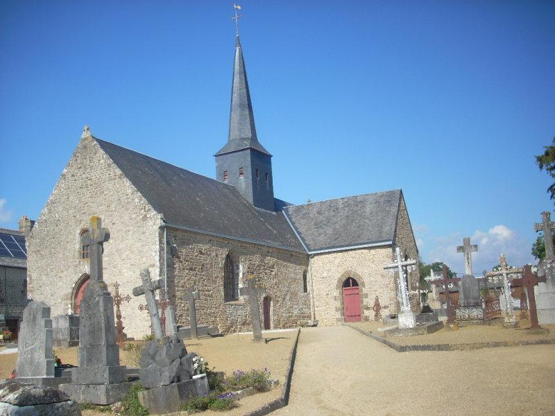 La Bazouge de Chemeré Eglise10