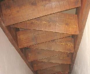 Escalier japonais à pas décalés Escali18
