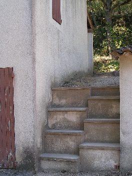 Escalier japonais à pas décalés Escali19