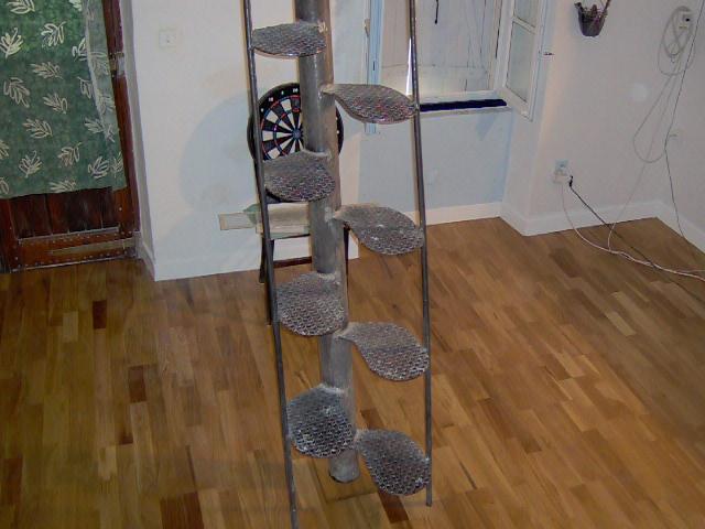 Escalier japonais à pas décalés Escali20