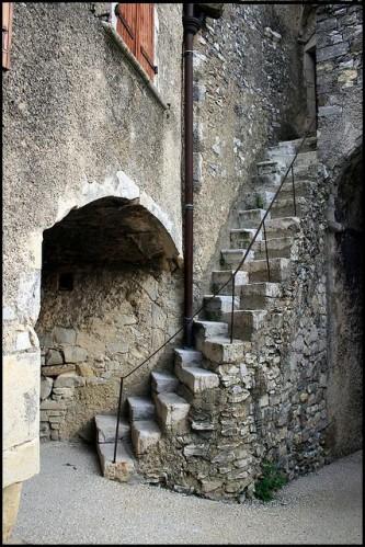 Escalier japonais à pas décalés Escali24
