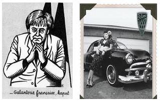 Juxtapositions oulipiennes d'images - Poésie des contrastes Femmes10
