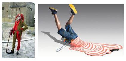 Juxtapositions oulipiennes d'images - Poésie des contrastes Glissa10