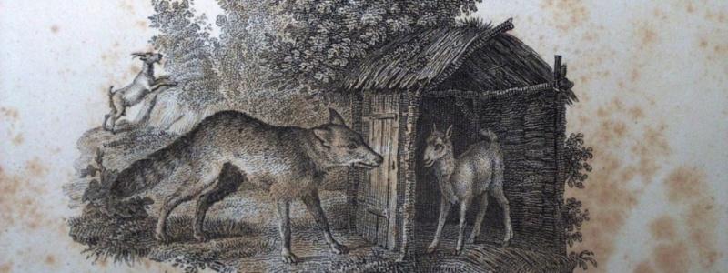 Fables de La Fontaine et leurs origines Loup-c10