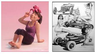 Juxtapositions oulipiennes d'images - Poésie des contrastes Nana10