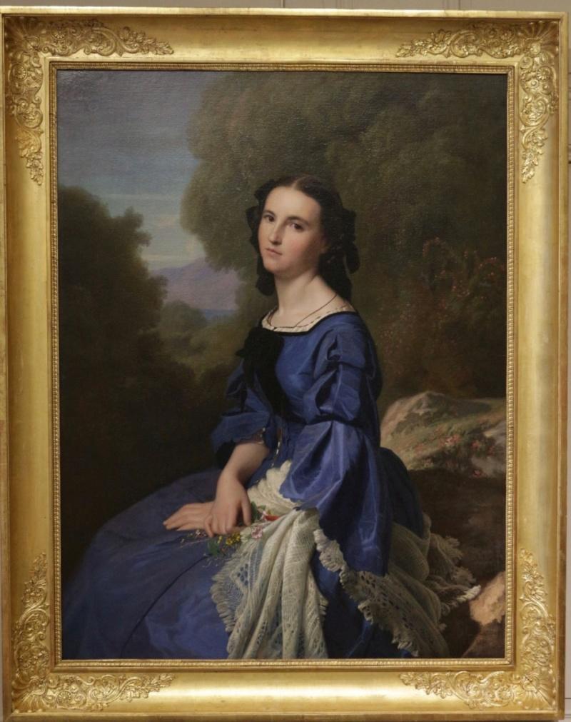 Tentative de retrouver un tableau d'après un portrait de femme renaissance Paulfl10