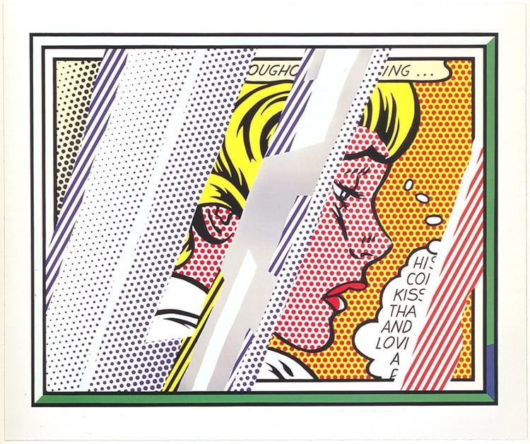 Roy Lichtenstein Reflec10