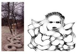 Juxtapositions oulipiennes d'images - Poésie des contrastes Serpen10