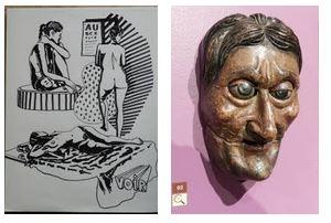 Juxtapositions oulipiennes d'images - Poésie des contrastes Voir10