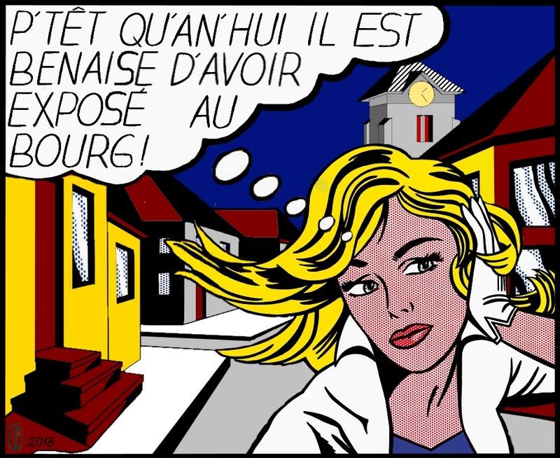 Et si Van Gogh était venu lui-aussi à La Bazouge? (Collages et pastiches) Y_196511
