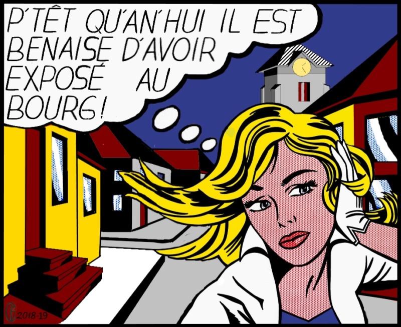 Et si Van Gogh était venu lui-aussi à La Bazouge? (Collages et pastiches) Y_196514