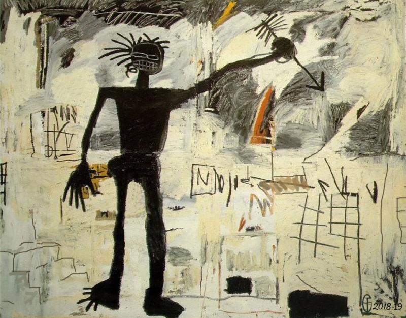 Et si Van Gogh était venu lui-aussi à La Bazouge? (Collages et pastiches) Y_198310