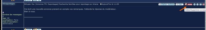 [Annonce TF1 Reportages] Recherche familles pour reportage sur Ariane Sans_t34