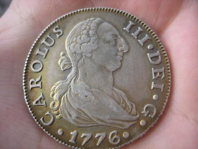 8 reales 1776. Carlos III. Sevilla 1140