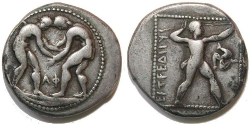 Estátera de Aspendos (Panfilia) 370-330 a.C. 1142