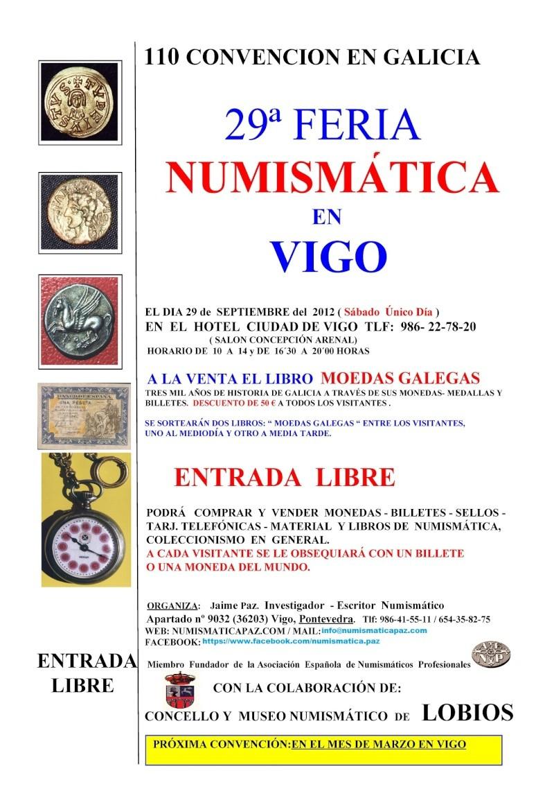Convención numismática en Vigo. 29 de Septiembre. 175