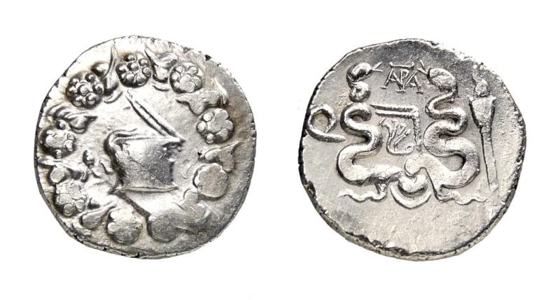 Cistóforo de Éfeso. Cuestor anónimo (60 - 50 a.C.) 192