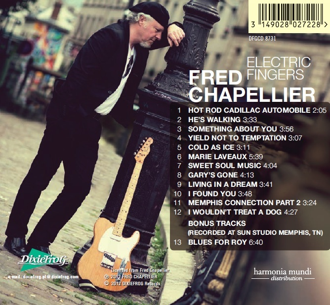 Fred Chapellier - Electric Fingers Electr10