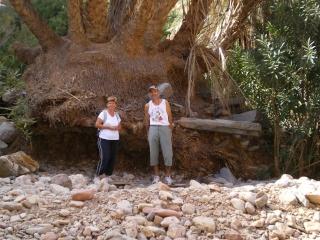 L'agadir d'AMTOUDI (ID AISSA) et la source de l'oued. 050_710