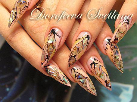 Фотографии интересных дизайнов ногтей _1_210