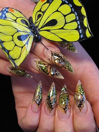 Фотографии интересных дизайнов ногтей _1_310