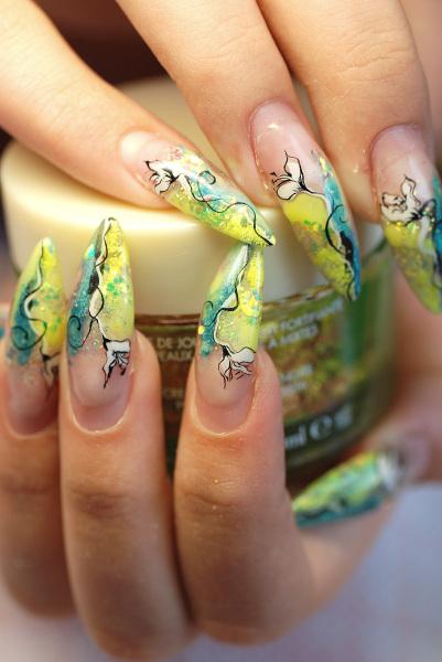 Фотографии интересных дизайнов ногтей Pildid12
