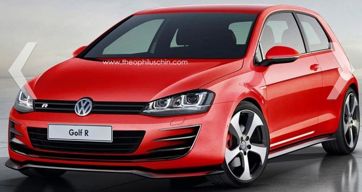 Golf 7 R (concept design !) 1/1 2013-011