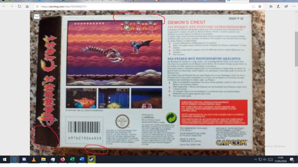 --- VDS --- Collection Super Nintendo ----- VENDU ----- - Page 2 Demon10