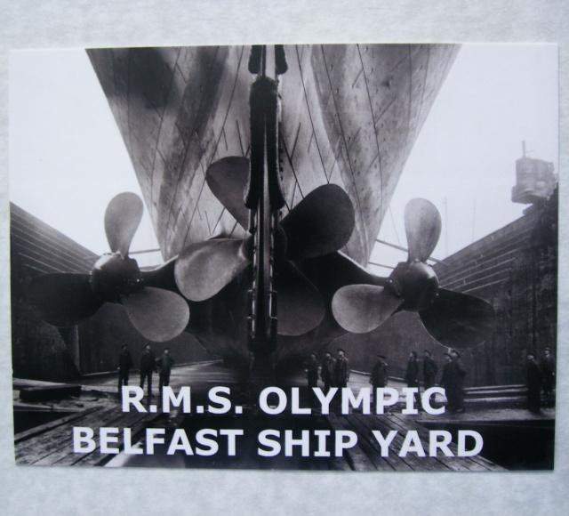 piani - HMHS Britannic - (realizzazione su base Titanic Amati 1/200) 7_7_2010