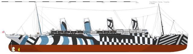 piani - HMHS Britannic - (realizzazione su base Titanic Amati 1/200) Olympi10