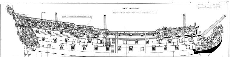 royal - costruzione H.M.S. ROYAL WILLIAM 1719 1:72 EUROMODEL Royal10