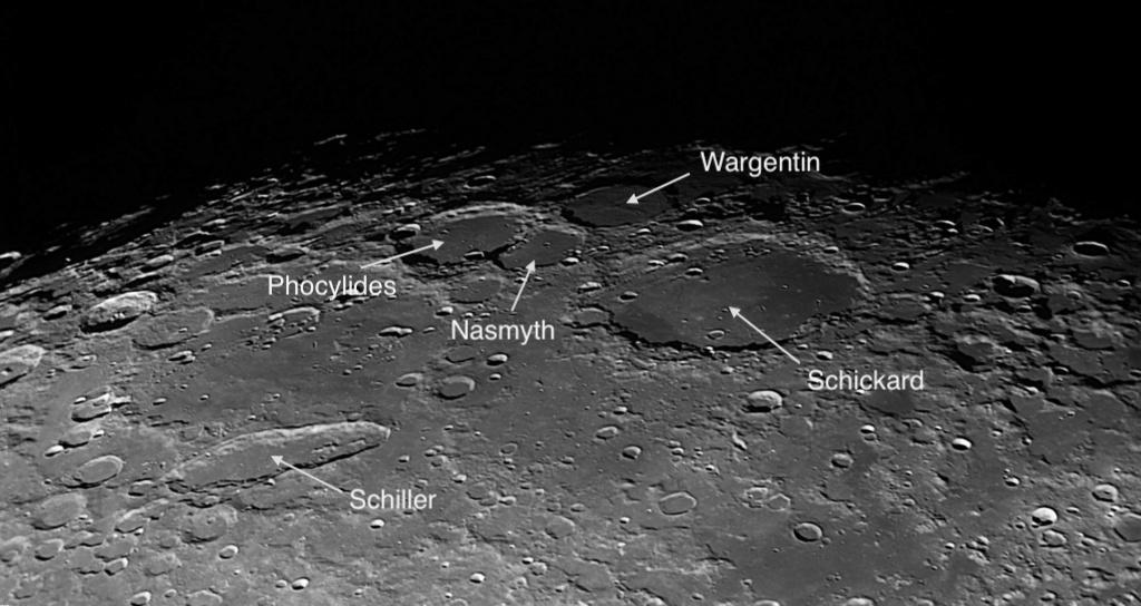 Schickard, Wargentin, Nasmyth et Phocylides et Aristarque, Hérodote et Vallis Schröten Photo110