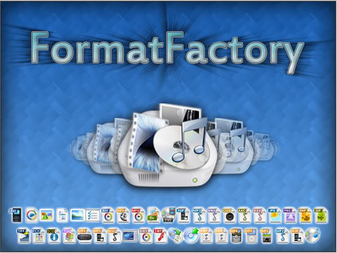 تحميل عملاق تحويل صيغ الفيديو Format Factory 2.50 بحجم 38 ميجا, مرفوع على اكتر من سيرفر Format11