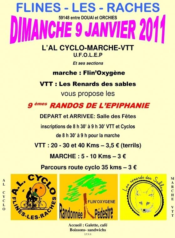 Rando de l'Epiphanie à Flines-les-Râches (59) le 09/01/2011 Captur11